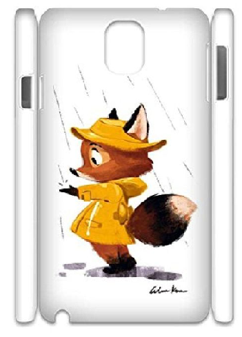 fox in the rain design