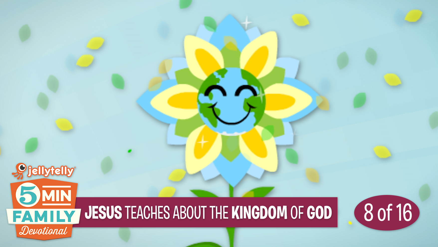 Jesus Teaches about the Kingdom of God - Jesus 5 Minute Family Devotional
