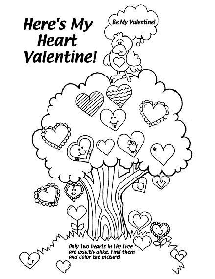 Eleven Best Valentine S Coloring Pages Jellytelly Parents