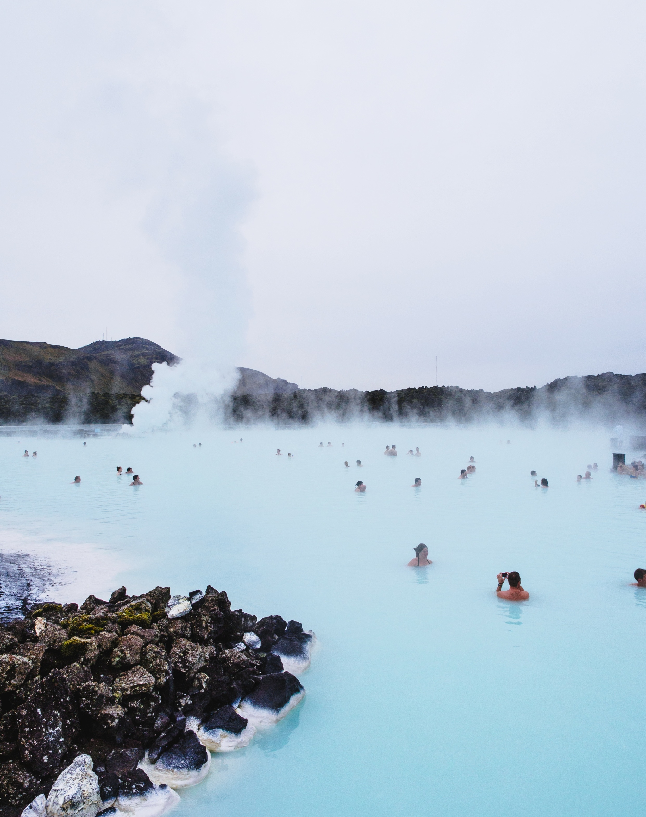 iceland hot springs blue lagoon